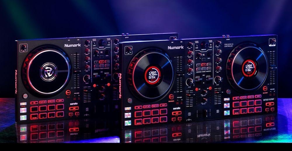Numark introduces new Serato controllers: Mixtrack Platinum FX & Pro FX