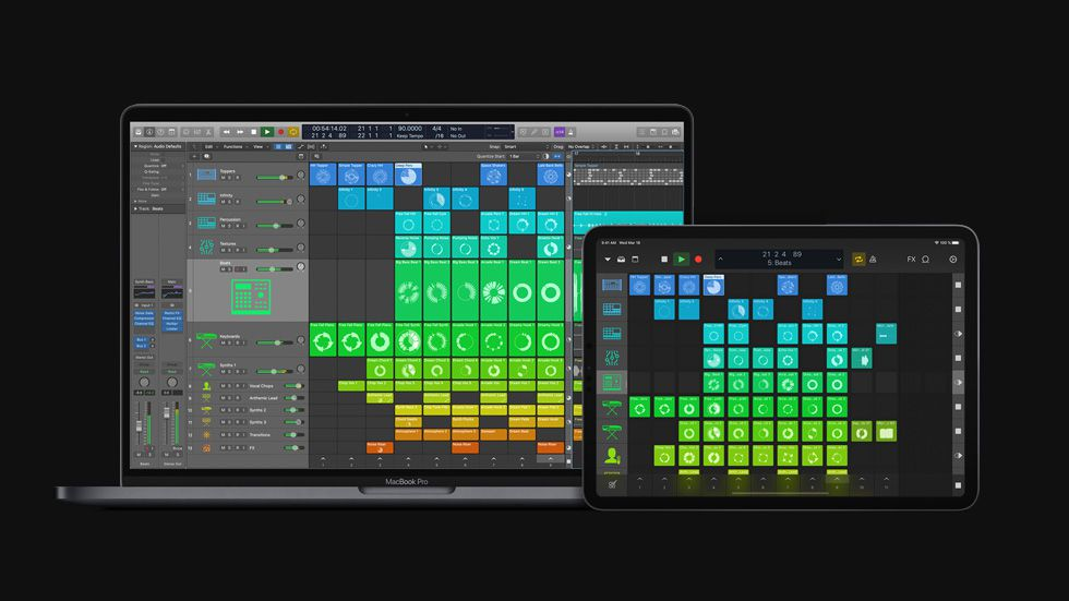Apple releases major Logic Pro X update with Live Loops, Step Sequencer