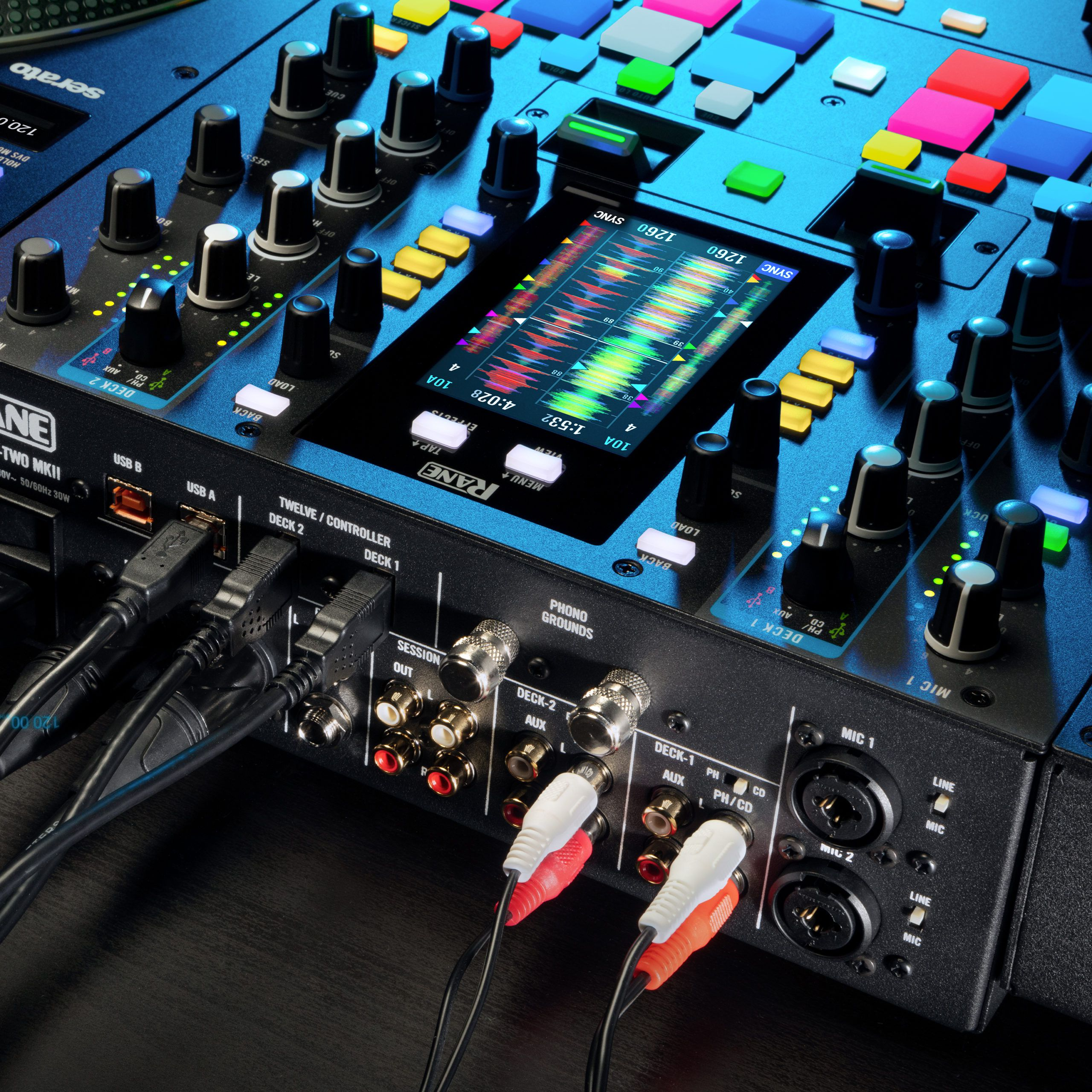 Rane releases MKII editions of Seventy-Two mixer, Twelve controller