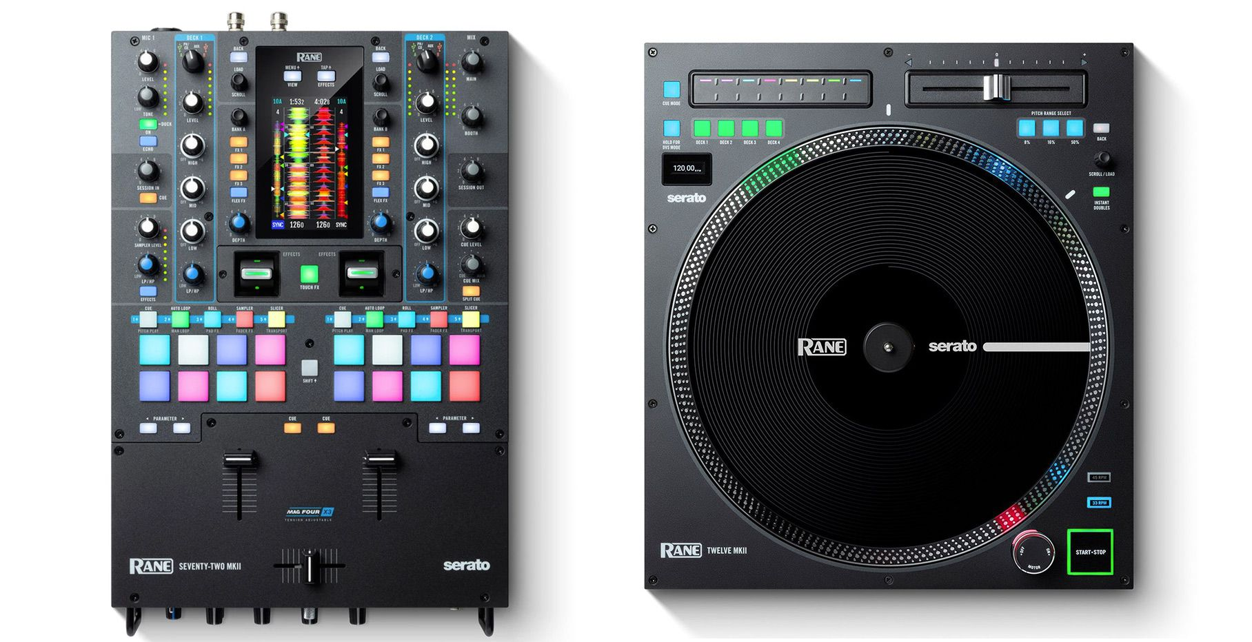 Review: Rane's new Twelve MKII & Seventy-Two MKII