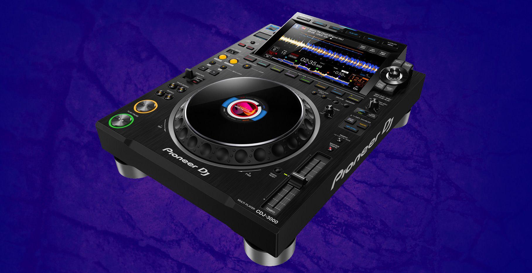 Pioneer DJ CDJ-3000 annoucement