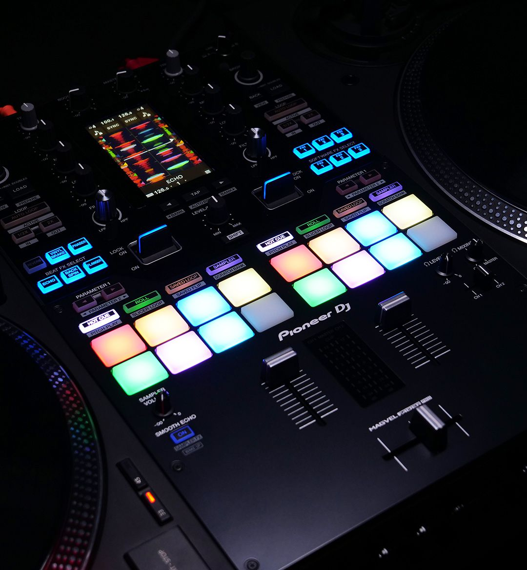 This is Pioneer DJ's DJM-S11: Scratch Bank, Four-deck controls & more