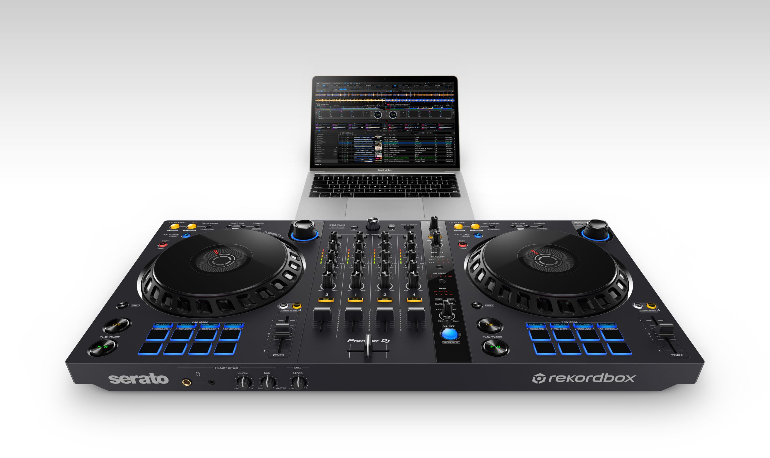 Pioneer DJ's new DDJ-FLX6: a Rekordbox/Serato DJ controller with new FX and  scratch features - HousePromo