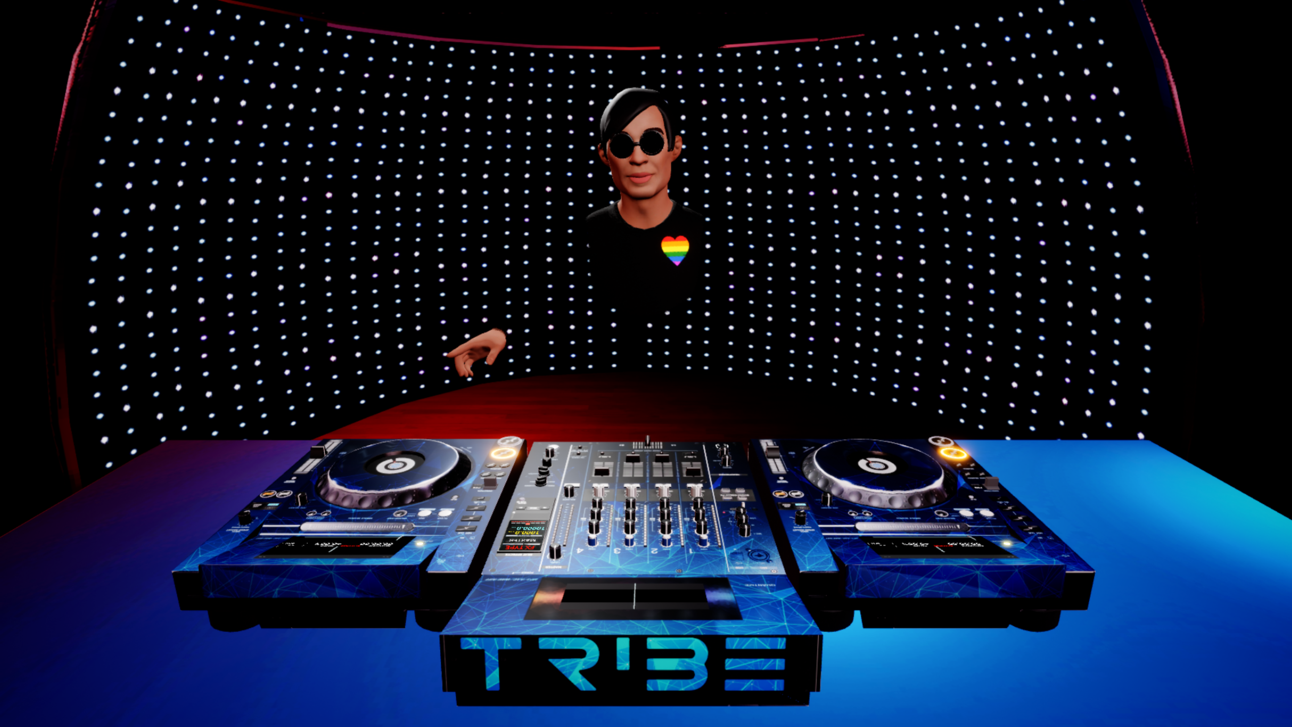 Stream from Beatport in VR with Tribe XR's new LINK integration