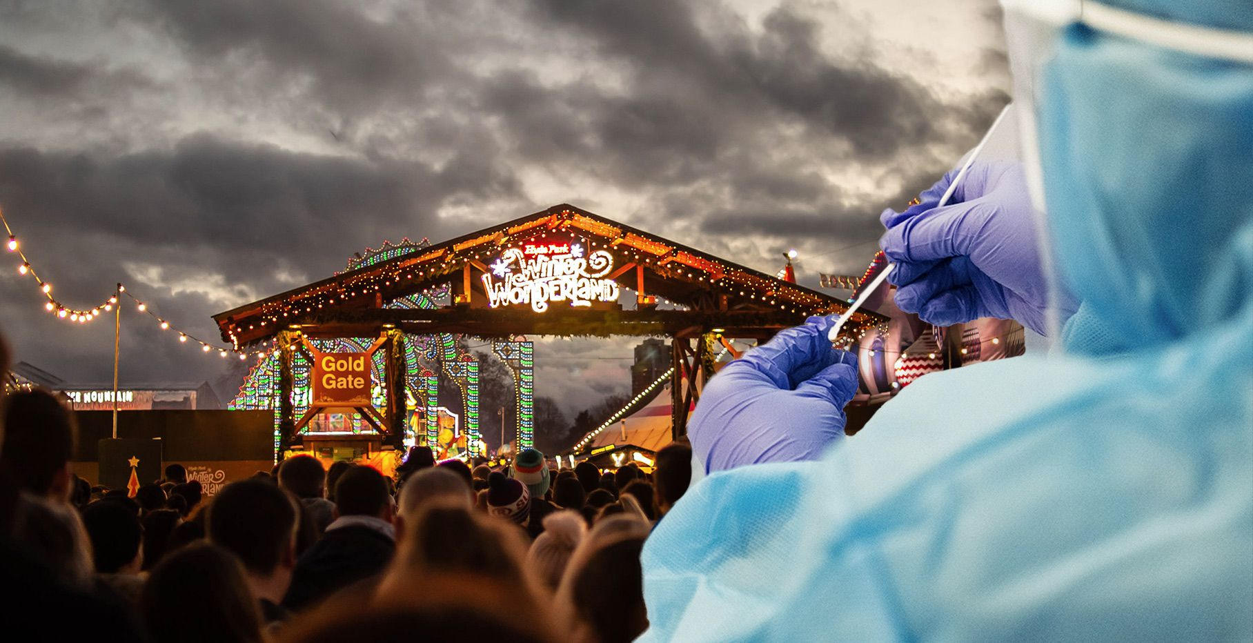 Festivals with rapid testing