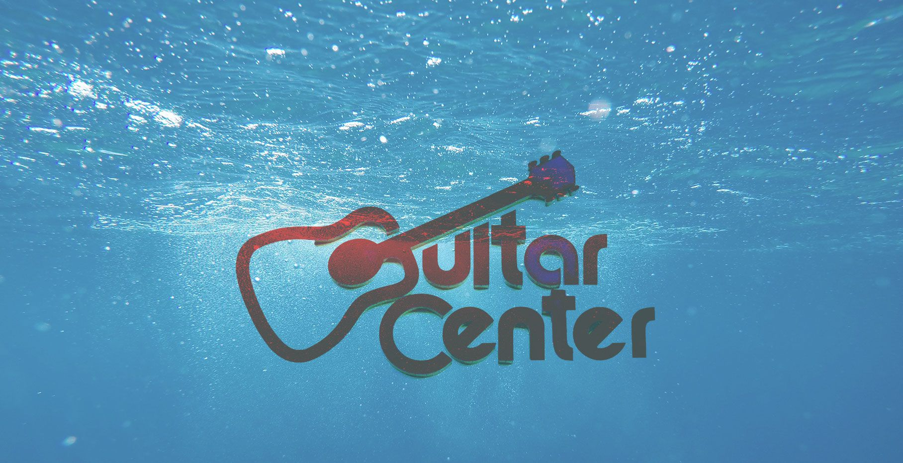 Guitar Center underwater