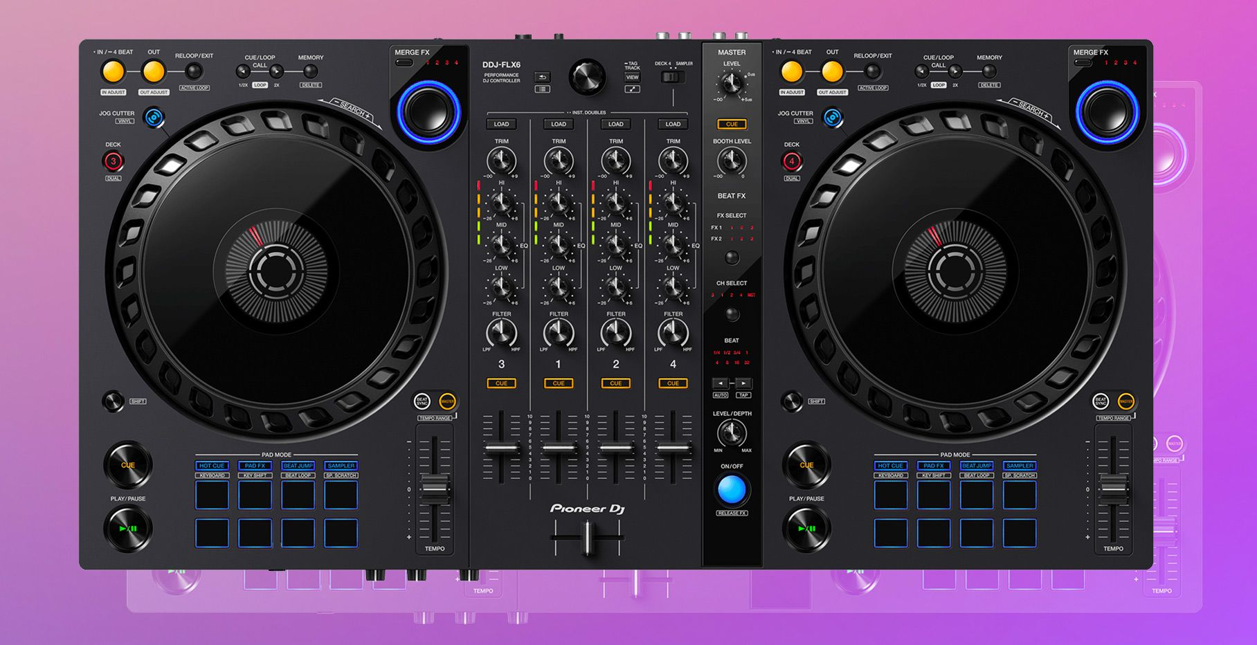 Review: DDJ-FLX6 –a feature-packed, midrange controller for $599