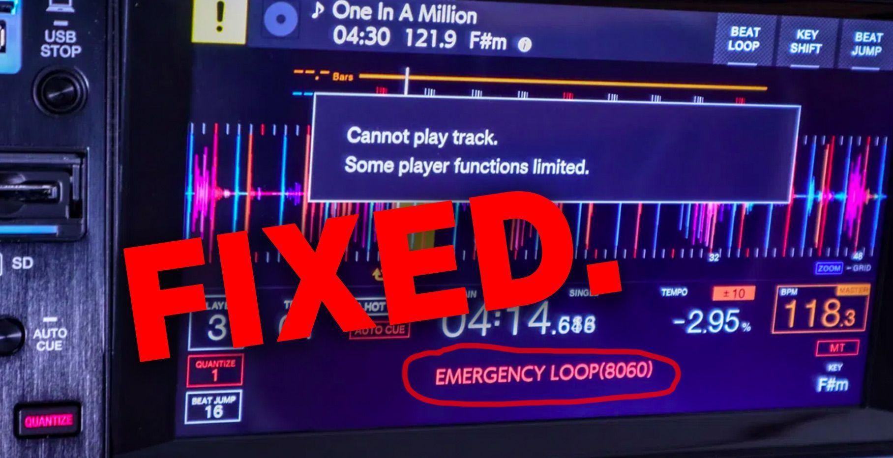 Goodbye, Emergency Loop. A CDJ-3000 update finally added full track caching.