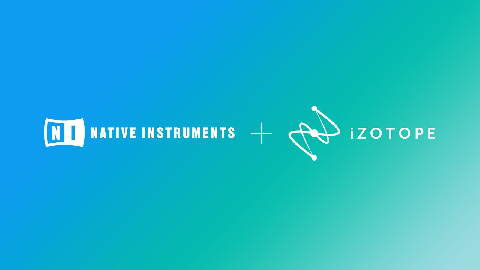 Native Instruments, iZotope team up to focus on building a seamless creator experience