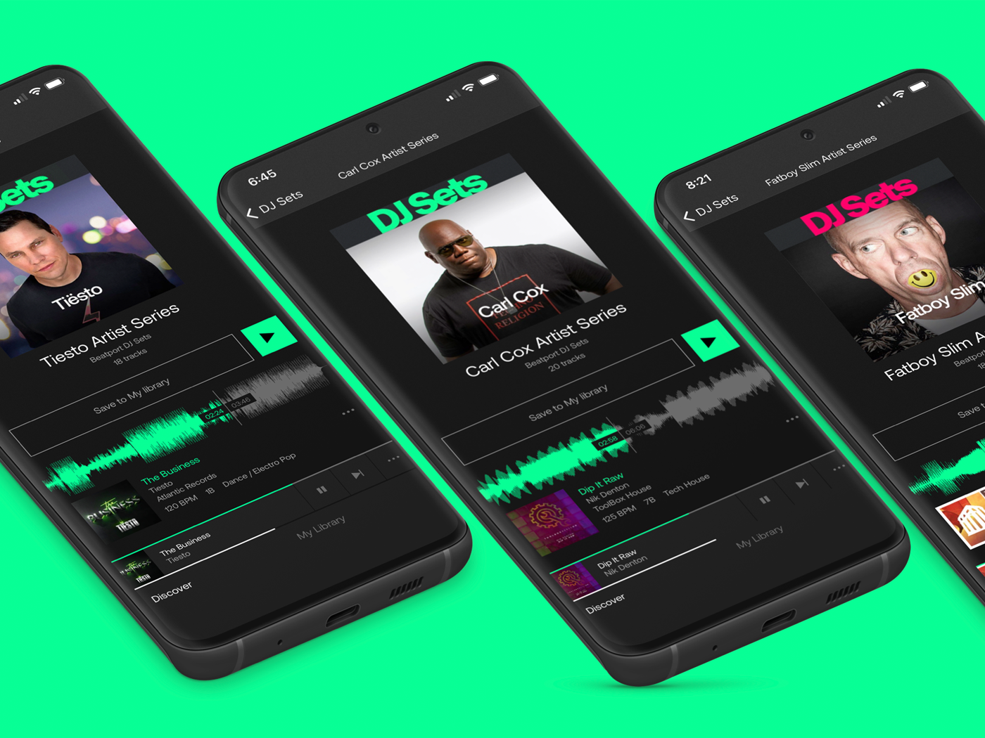 Beatport's iOS app is here, & with it a company rebrand