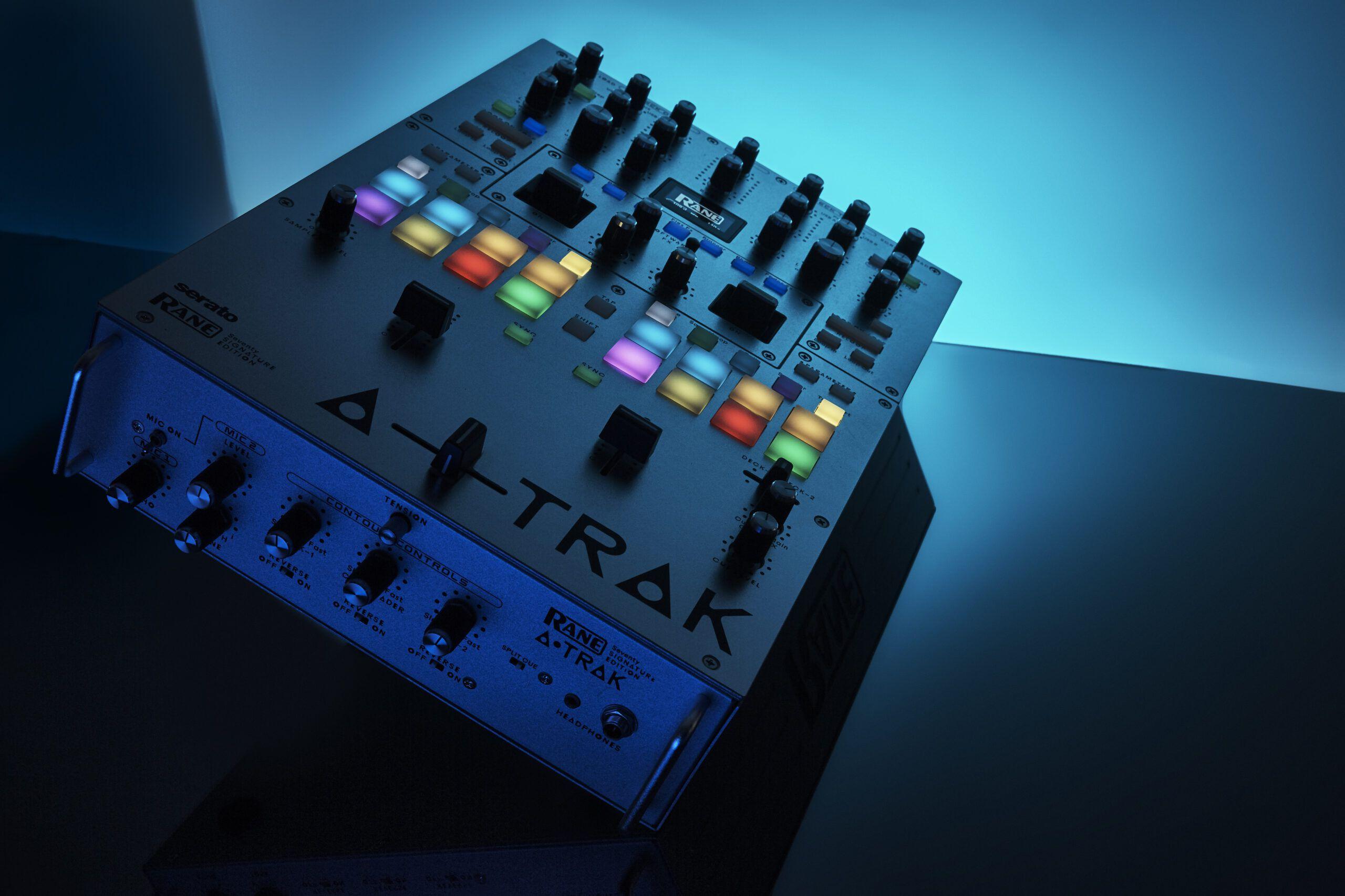 Rane releases an A-Trak Signature Edition of the Seventy battle mixer